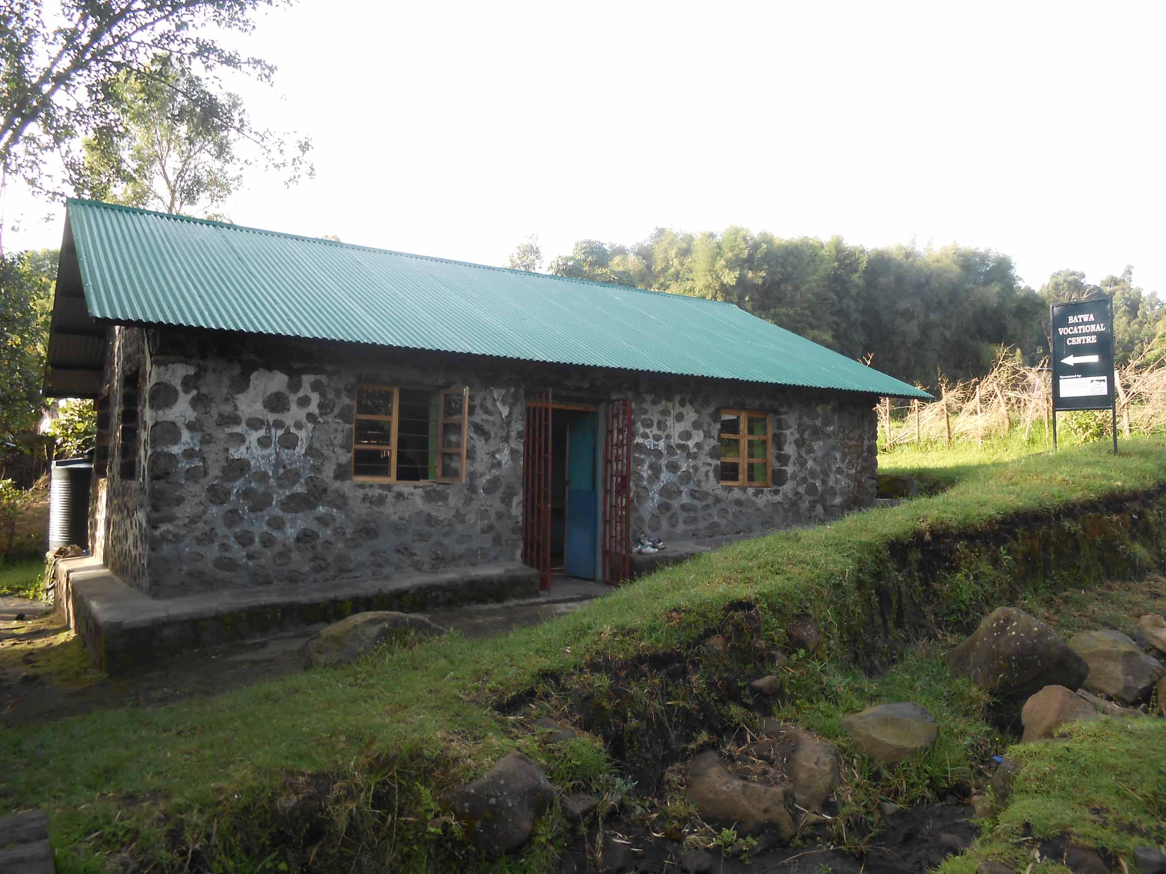 Batwa Vocational Center.