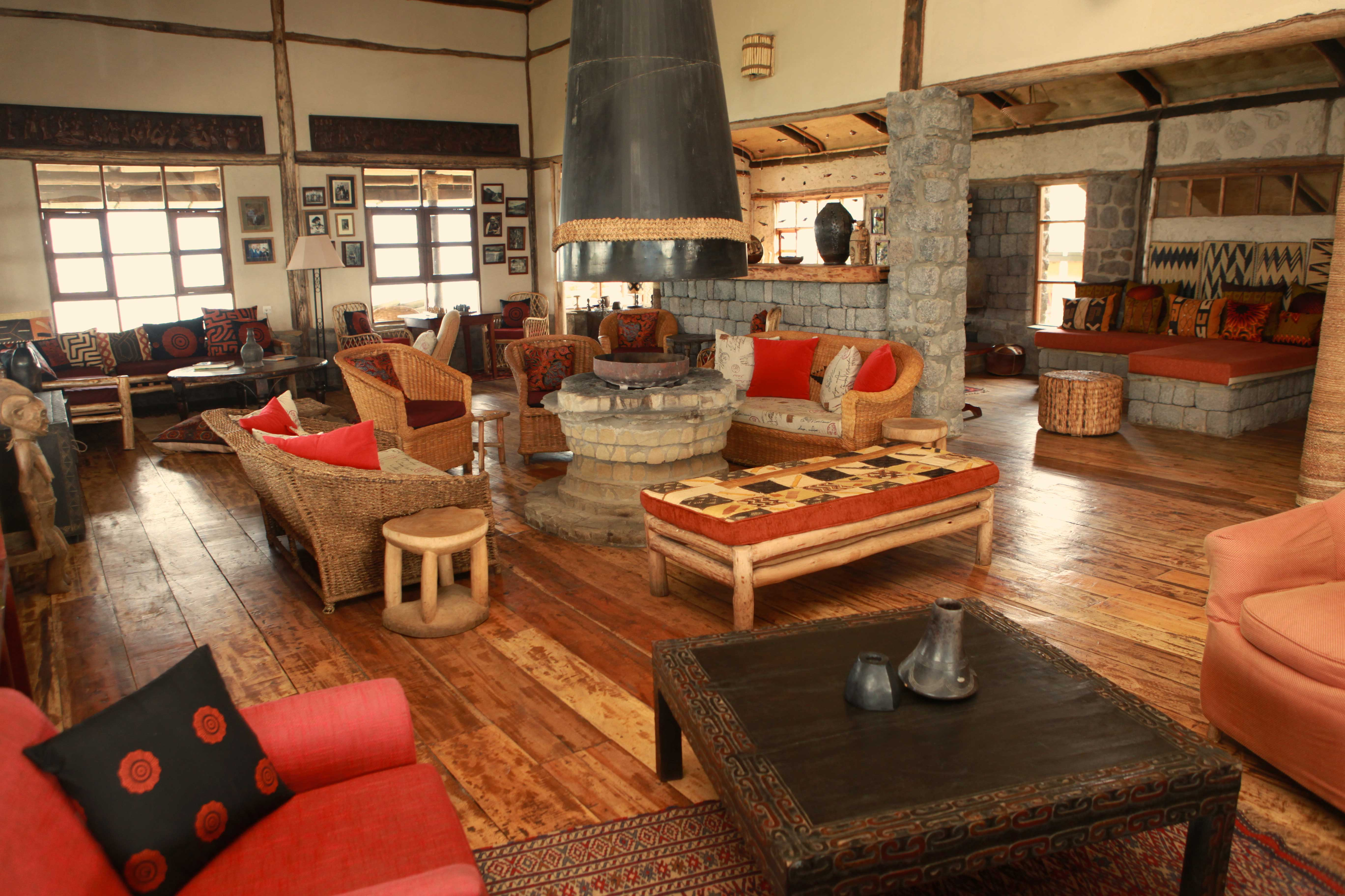 Virunga Lodge.