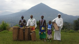 The drummers of the Intore Dance Group