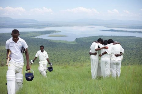 RCSF cricket Guinness Kigali, Volcanoes Safaris