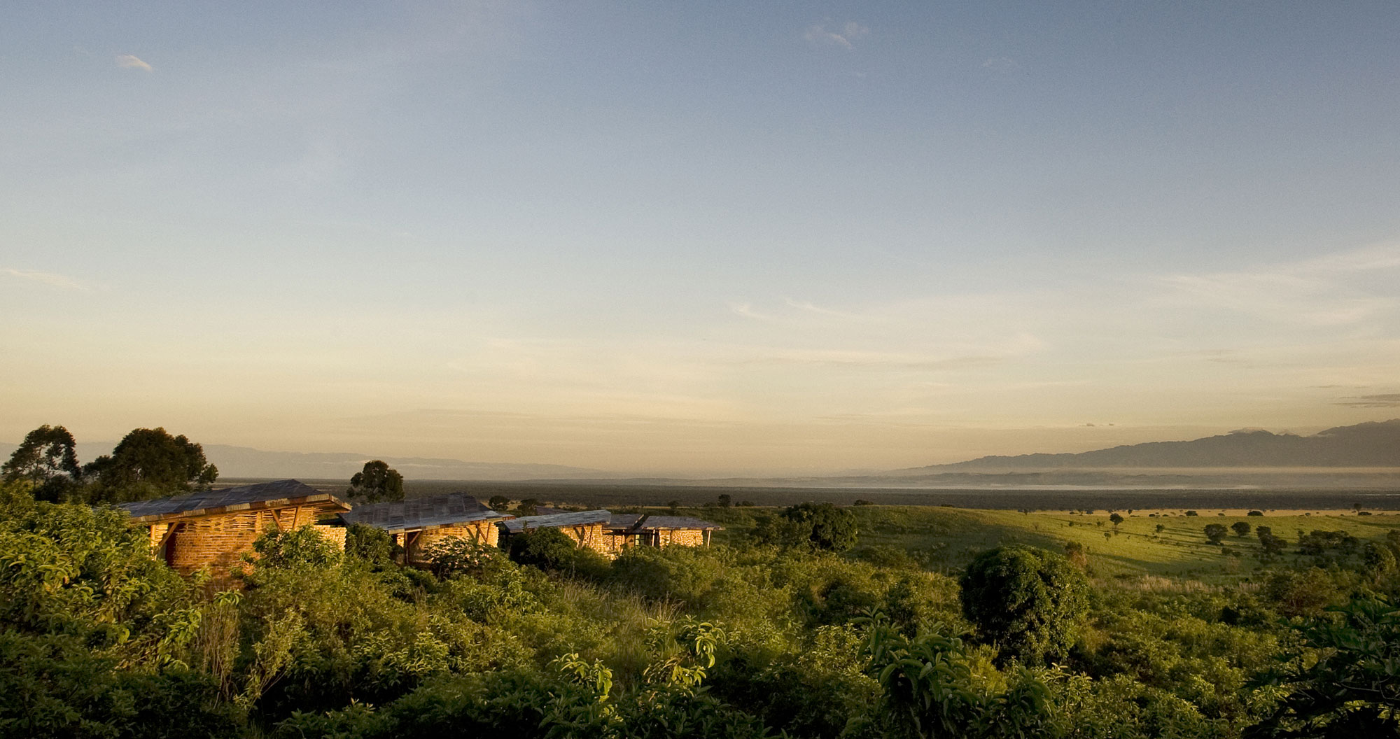 View of the Rift Valley from Kyambura Gorge Lodge