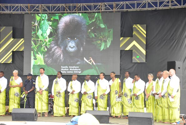 Kwita Izina 2015-Every year, conservationists, tourism experts and international politicians and celebrity guests are invited to name the gorillas at Kwita Izina, Rwanda