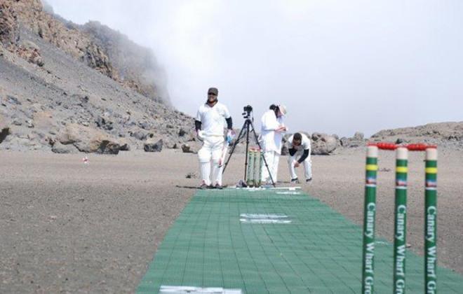 RCSF Mount Kili Madness cricket world record 2014